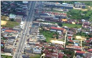 Pemukiman Penduduk Memanjang